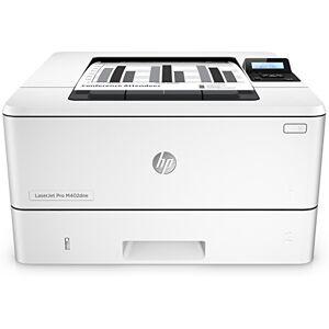 HP LaserJet Pro M402dne C5J91A # B19 Laser Printer (Printer, LAN, Duplex, JetIntelligence, Apple Airprint) White