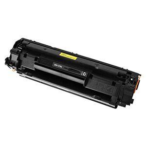 CWETF Black Toner Cartridge for Laser Printer, Easy to Add Toner Cartridge for Home or Office, for HP P1560 / P1566 / P1606 / P1606dn / M1536dnf MFP-black