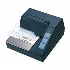 Epson TM-U295 (292) 7-pin Serial Impact Dot Matrix Authorisation Slip Printer Serial (Epson Dark Grey) without power supply