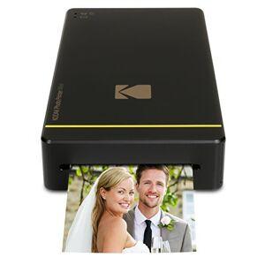 Kodak PM 210 Thermal Sublimation Mini Portable Mobile Instant Photo Printer - Black
