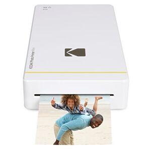 Kodak PM 210 Thermal Sublimation Mini Portable Mobile Instant Photo Printer - White