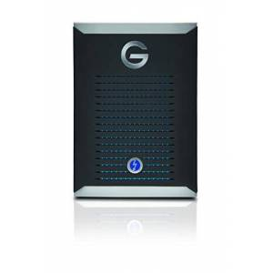 G-Technology 1TB G-DRIVE Mobile Pro SSD up to 2800 MB/s, Professional Grade, Portable Storage