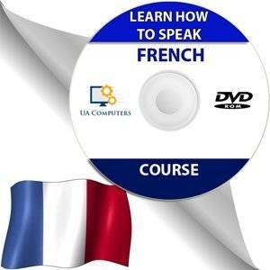 Quick-Fix Learn How to Speak FRENCH Audio Course Lessons Language play while in car any mp3 DISC CD DISK