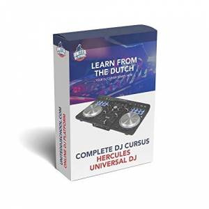 United Course Hercules Universal DJ Learn from the Dutch DJs in 20 Online videos about your controler!