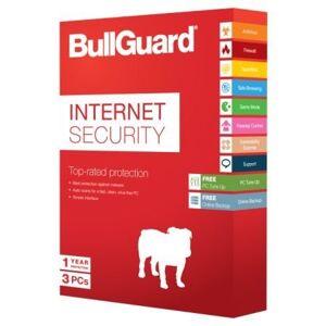 BullGuard Internet Security 2014 (v14), 3 Users, 1 Year Digital Licence Key, No Media Or CD