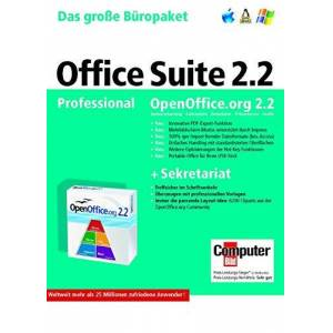 Koch Media Gmbh Open Office Professional Suite 2.2 (DVD-Box)