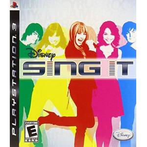 Disney Interactive Toys Sing It for Sony PS3