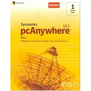 Symantec PCAnywhere 12.1 IN Host CD Upgrade