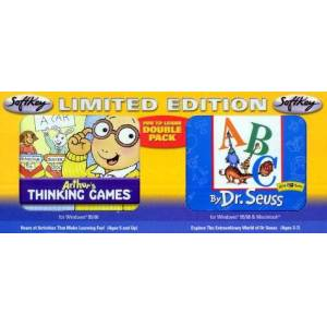 Softkey Dr Seuss ABC & Arthur's Thinking Games Double Pack