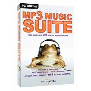 Acoustica MP3 Music Suite