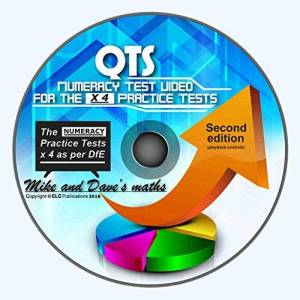 Mike And Dave QTS Numeracy Skills Test: audio-visual WINDOWS CD for all 4 Practice Tests 2017