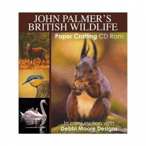 Jackdaw Express Debbi Moore John Palmer's British Wildlife Papercrafting CD ROM (324125)
