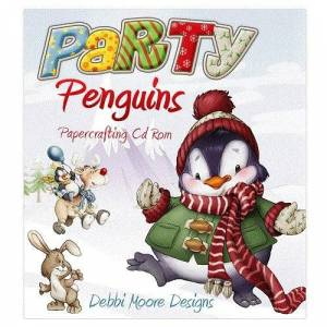 Jackdaw Express Debbi Moore Party Penguins Papercrafting CD ROM (327577)