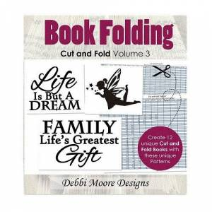 Debbi Moore Book Folding Cut & Fold Volume 3 Create & Craft Special CD (326228)