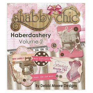 Jackdaw Express Debbi Moore Shabby Chic Haberdashery Volume 2 CD ROM (327621)