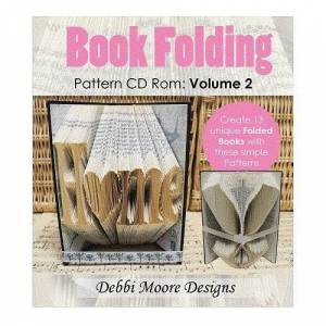 Debbi Moore Designs Debbi Moore Book Folding Pattern Volume 2 CD Rom x 1 (323272)