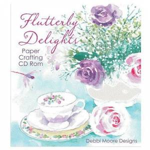 Jackdaw Express Debbi Moore Flutterby Delights Papercrafting CD ROM (327775)