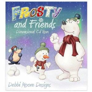 Jackdaw Express Debbi Moore Frosty and Friends Dimensional Papercrafting CD ROM (328154