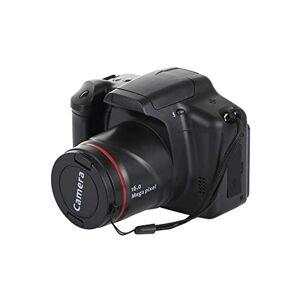 ZQALOVE Portable 1080P Digital Camera Camcorder Full HD 1080P Video Camera 16X Zoom AV Interface HD Video Recorder Photo Camera,Color:Black,Ships From:France (Color : Black)