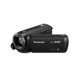 Panasonic HC-V380EB-K Full-HD Handheld Video Camera with 50x Optical Zoom - Black