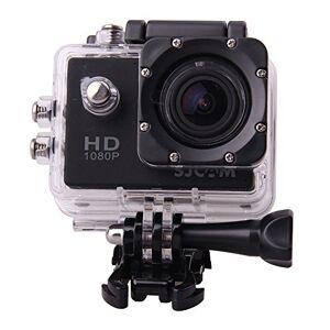 SJCAM Multi-function SJ4000 HD 1080P Waterproof Digital Video Recorder DVR Camcorder, 12 Mega pixel, 170 HD wide-angle, Multi Colors, with Waterproof Case Multiple Mounts (Black)