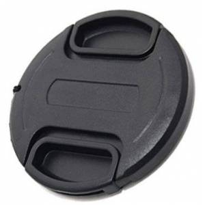Maxsimafoto - 58mm snap on - clip on Lens Cap, center pinch with string/leash for Canon 18-55mm (all versions including STM) 700D 650D 600D 550D 100D 1100D 1200D.