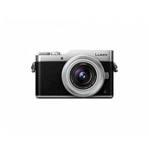 Panasonic Lumix G DC-GX800KECS 16 MP Camera with Optical Stabiliser, 4x Zoom, Touch Screen, DFD Technology, WiFi, 4K, Black/Silver - Kit with Body and VARIO Lens 12-32 mm / F3.5-5.6