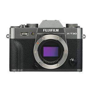 Fuji X-T30 Mirrorless Digital Camera, Charcoal Silver