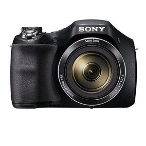 Sony DSCH300 Digital Compact Bridge Camera - Black