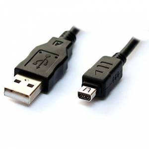 CamRepublic Replacement Sync Charger & Data USB Cable for Olympus U1000, U1030, U850, U840, U820, U800, U780, U760, U750, U740, U730, U600(USBCA-1003)