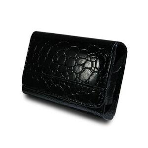 bw & h B24c Black Faux Leather Camera Case Pouch for Samsung ES9 PL210 PL211 PL221 PL201 PL57 ES28 ES29