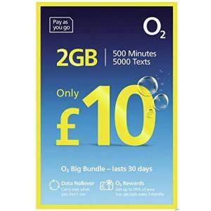 O2 02/02 - Superfast 4G PAY & GO NANO SIM CARD For IPHONE 5, 5C, 5S, 6, 6S, 6Plus/Galaxy S4, S5, S6, 6Edge/Galaxy Notes 3, 4, 5 -  MOBILES DIRECTS COMMUNICATIONS LTD
