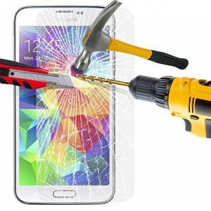 L-FENG-UK Tempered Glass LCD Screen Protector Guard WITH Polishing Cloth,SKIN CASE For SAMSUNG GALAXY S4 I9500 FROM UK