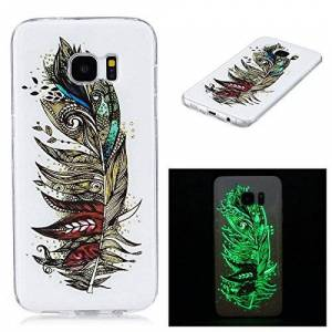 "FQY-TEC Samsung Galaxy S7 edge(5.5"") case,[FQY-TEC][Noctilucent][Silicone][Soft TPU] Case for Samsung Galaxy S7 edge (5.5"") 24"