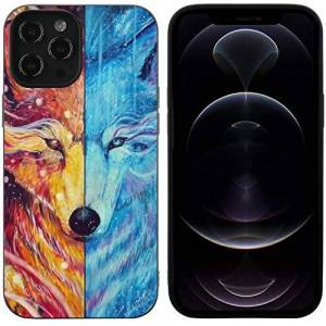 Bernice Winifred Animal Wolf For iPhone 12 Case Thin Slim Design Soft Protective for Women Girl Men Boy-iPhone12