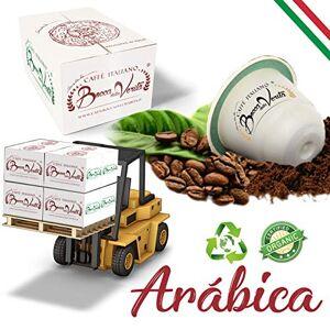 """Bocca Della Verit Coffee Bocca Della Verit Nespresso Compatible Capsules Compostable """"Arabica '"""" in Platforms of 72 cartons of 10 Cases for 10 Pieces"""