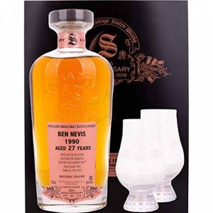 Signatory Vintage Ben Nevis 27 Year Old 1990 Signatory 30th Anniversary