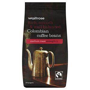Waitrose Colombian Blend Coffee Beans Waitrose 227g