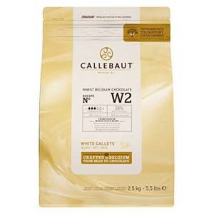 Callebaut Select White W2 Chocolate Callets 2.5 kg