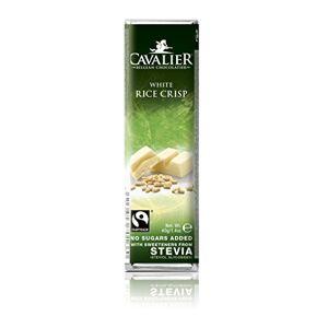 Cavalier stevia 40g bar White Rice Crisp