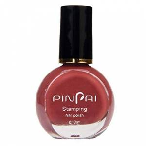 MMLsure Nail Polish 10 ML Long Lasting Quick Drying Template Stamp Stamping Painting Varnish Polish Nail Lacquer Finger Beauty Nail Varnish Gift For Women (E)