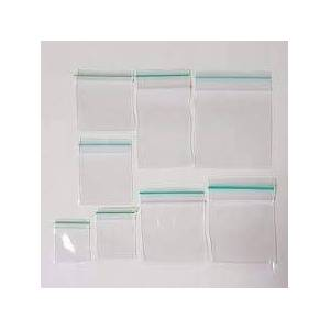 MultiWare Clear Poly Zipper Bags Reclosable Ziplock Storage Plastic Bags Crystal Clear Protective Closure Baggies for Ring Bead Necklace Coin Pill 100 Pcs