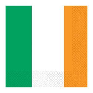 amscan Ireland Flag Luncheon Napkins-16 Pcs