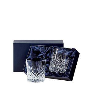 Royal Scot Crystal Ltd Royal Scot Crystal Edinburgh EDB2LT Crystal Large 11 oz Whisky Tumblers Set of 2