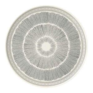 Royal Doulton Ellen Degeneres Grey Lines 40027651 Platter 32cm, Porcelain