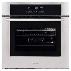 KKT KOLBE Electric Built-In Oven (60cm, 70 l, hot air, 3.3kW, grill/roasting-system, SensorTouch, telescopic drawers, self-cleaning, EEK A) EB8015ED - KKT KOLBE