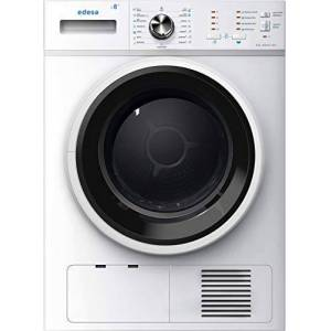 Edesa ESC-8000 WH Freestanding Front-load White 8 kg B - Tumble Dryers (Freestanding, Front-load, Condensation, White, Buttons, Rotary, 109 L)