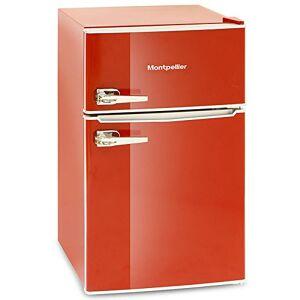 Montpellier MAB2030R 86litre Mini RETRO Fridge Freezer Class A+ Red