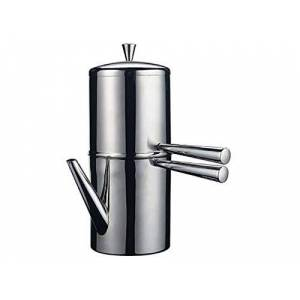 Ilsa Napoledo Cafetiere 9 Cup Stainless Steel