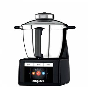 Magimix 18903 food processor - food processors (Black, Stainless steel, Stainless steel)